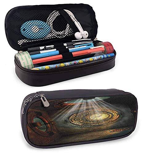 Fantasie-Stiftkasten-Uhr-Traumhimmel-Erfindung-schönes Muster