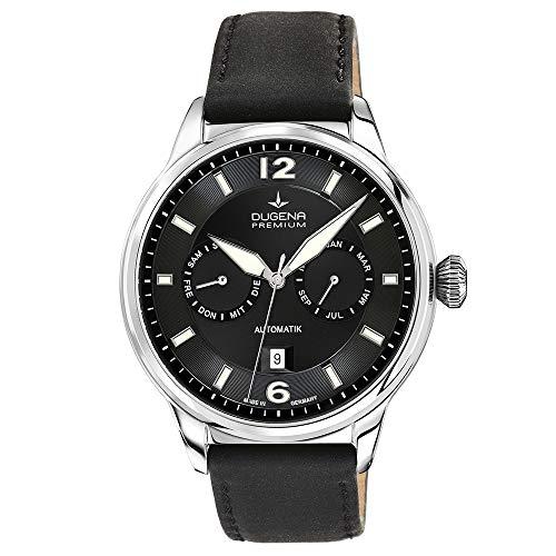 Uomo-orologio KAPPA Dugena Calendario Automatico pelle Analog 7000304
