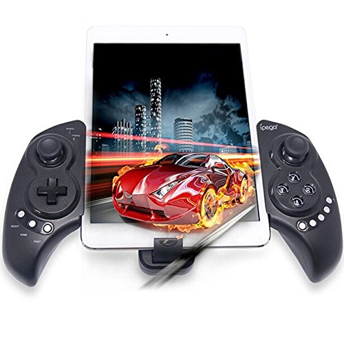 Wireless Gamepad, Megadream Android Tablet PC Joypad Joystick Telescopic Controller for Smartphone & Tablet PC Samsung Galaxy S9 S8 S7 S6 S5 Note 9 8 6, HTC One, Sony Xperia, LG, Moto – Up to 10 inch