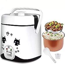 ZOUJUN Mini Riz Cooke Chauffage électrique Boîte à Lunch Chauffe réchauffer Les Aliments Conteneurs Portable Déjeuner Bent...