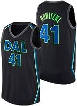 K/&S Sport Dirk Nowitzki Dallas Mavericks Schwarz Trikot f/ür Herren /& Jungen,Dirk Nowitzki City Edition Swingman Trikot f/ür Herren /& Jungen