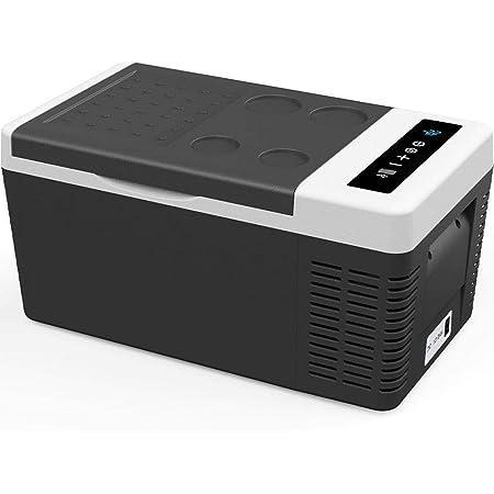 F40C4TMP 車載冷蔵庫 18L -22℃~10℃ 2電源対応 車載用冷凍冷蔵庫 12V 24V 100V 車冷蔵庫 静音 AC・DCコード付き 取扱説明書付き