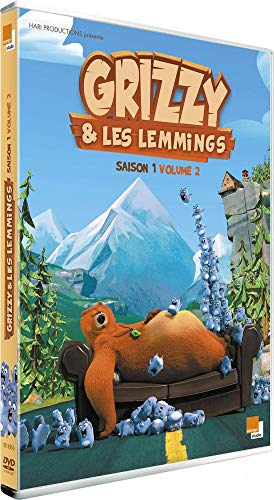 Grizzy & les Lemmings - Saison 1 - Volume 2 [Francia] [DVD]