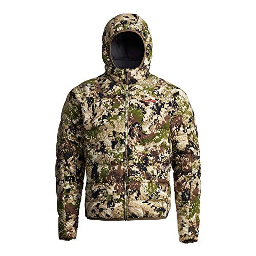 SITKA Gear Men's Kelvin Lite Down Jacket, Optifade Subalpine, Large