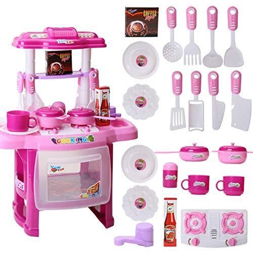 #N/V Los niños de la Luz Educativa de la Música de Cocinar Vajilla de Mesa de Jugar Casa de Juguetes de Cocina de los Niños