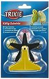 Trixie 5355 Praterrad mit kleinen Rasselbällen, 10 cm