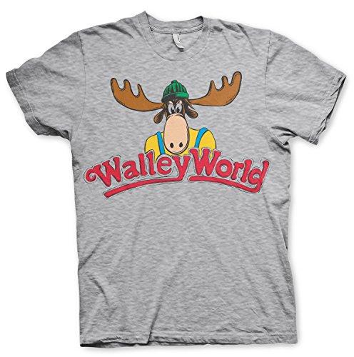 Offizielles Lizenzprodukt Walley World Herren T-Shirt (H.Grau), Large