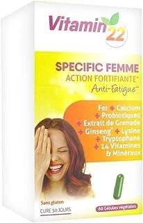 Ineldea Vitamin 22 Vitaminas-Olig-Plantas Mujer 60Cap. 1 unidad 200 g