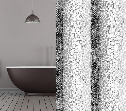 KS Handel 24 Textil Duschvorhang 240x200 cm (Snake)
