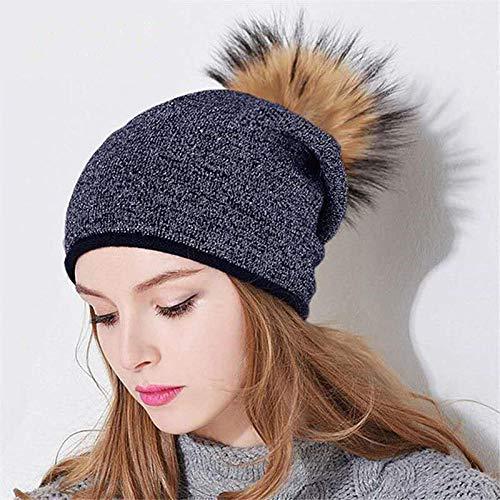 DELLA Winter Autumn Hat Bonnets for Women Soft Stretch Wool Female Cap Solid Color...