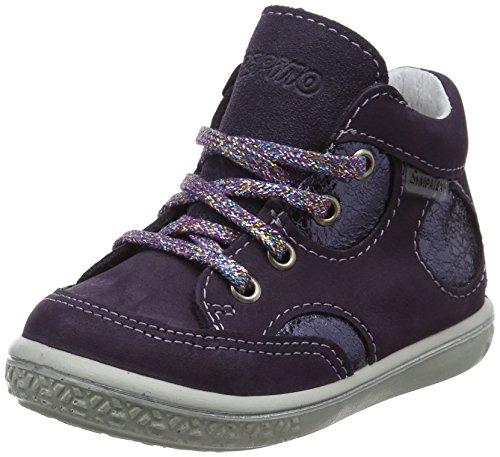 RICOSTA Mädchen Shelly Hohe Sneaker, BlackBerry, 00020 EU