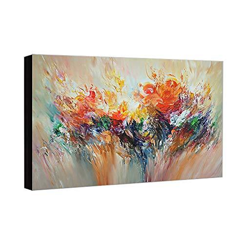 YCRD Pintura Al óLeo Pintada A Mano Cuadros Abstractos Modernos sobre Lienzo Arte Sala De Estar Dormitorio DecoracióN para El Hogar 60×90cm
