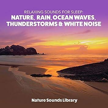 Relaxing Sounds for Sleep: Nature, Rain, Ocean Waves, Thunderstorms & White Noise