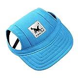 Dog Hat Pet Baseball Cap/ Dogs Sport Hat / Visor Cap with Ear Holes...