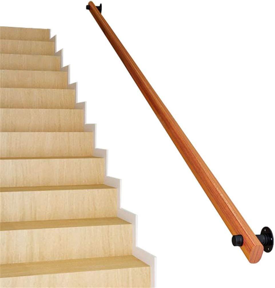 Yaad Barandillas de Escalera de Seguridad Kit Completo de barandilla de Escalera de Madera, baranda montada en la Pared Antideslizante, barandilla para niños Viejos de Interior,1ft: Amazon.es: Hogar