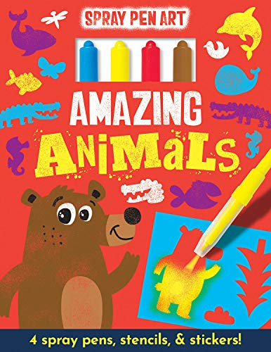 Amazing Animals (Spray Pen Art)