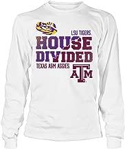 FanPrint LSU Tigers T-Shirt - LSU Vs Texas A&M : House Divided