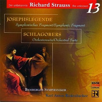 Josephs Legende, Op.63, Schlagobers, Op.70