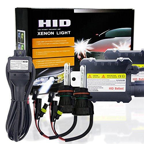 Ocamo 2pcs 55W 9004/9007 HID Bi-Xenon HI/LOW Headlight Bulbs Conversion KIT 3000-12000K