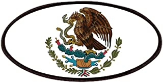 CafePress Mexican Coat Of Arms Patches Patch, 4x2in Printed Novelty Applique Patch