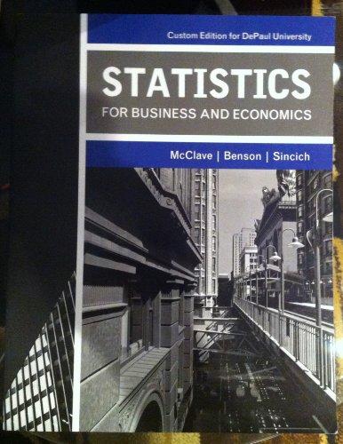 STATISTICS F/BUS.+ECON.>CUSTOM