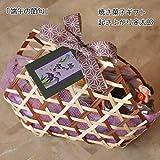 子供の日お菓子のギフト in 竹篭~起き上がり金太郎~和歌山産フルーツとチョコの焼き菓子詰め合わせ・端午の節句