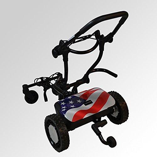 FTR Caddytrek R2 Robotic Golf Cart Stars and Stripes
