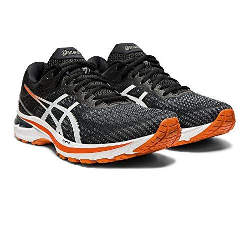 Asics GT-2000 9, Road Running Shoe Hombre, Black/White, 49 EU