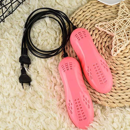 Secador de zapatos,Ultravioleta Shoe Boot Dryer Esterilización,secador de botas,calefacción nuclear doble,secador de zapatos,secador de pies portátil eléctrico para eliminar el mal olor y desinfectar