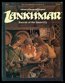 CA1 Swords of the Undercity - Book  of the Advanced Dungeons and Dragons Module #C4