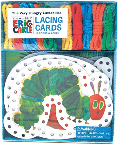 The World of Eric Carle(TM) The Very Hungry Caterpillar(TM) Lacing Cards: (Occupational Therapy Toys, Lacing Cards for Toddlers, Fine Motor Skills Toys, Lacing Cards for Kids)