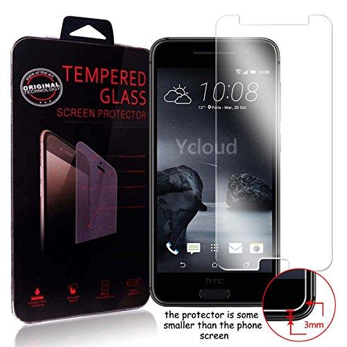 Ycloud Protector de Pantalla para HTC One A9 Cristal Vidrio Templado Premium [9H Dureza][Alta Definicion]