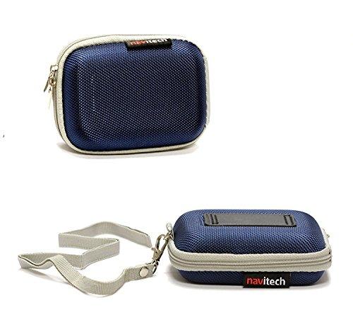 Navitech Blaue harte Schutzhülle für Kopfhörer von Bose SoundTrue Ultra in Ear - Apple Geräte
