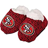 Forever Collectibles FOCO NFL Infant Knit Baby Bootie Shoe (San Francisco 49ers, Large (6-9M))