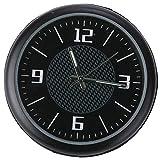 Agger Clásico Negro Pequeño Redondo del Cuarzo del Reloj del Reloj del Coche del Tablero de...