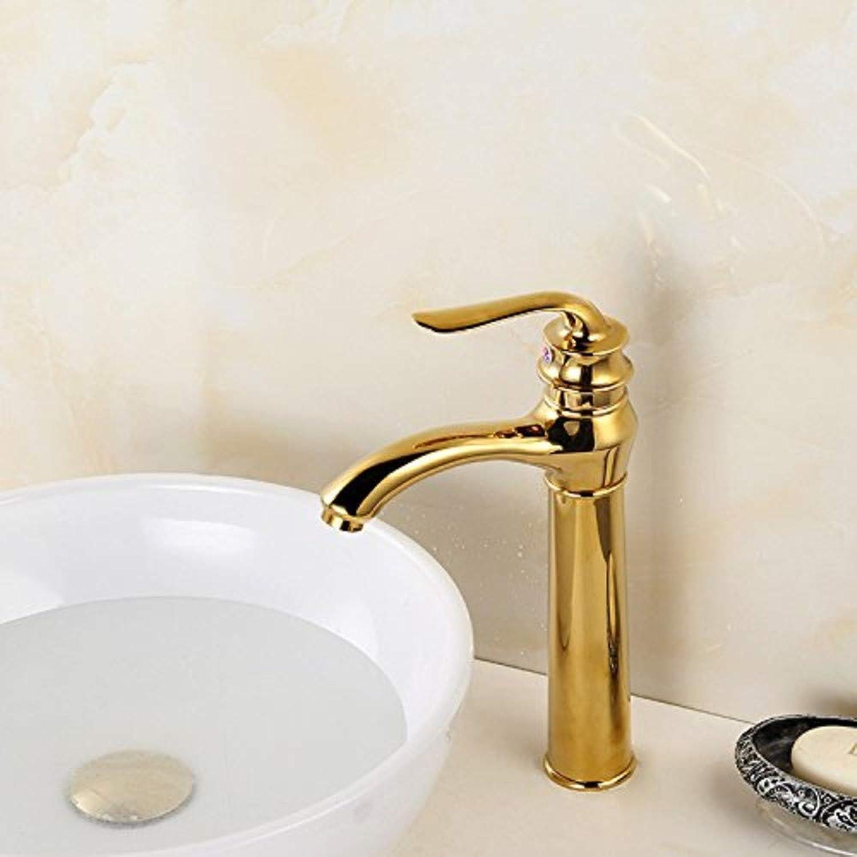 Water Tap Mixer Faucet Mixer Faucetbasin Faucet Factory Direct High gold European gold Basin Faucet On The Table