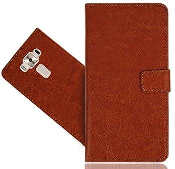 Asus Zenfone 3 Deluxe ZS570KL  5.7   Case FoneExpert Genuine Leather Kickstand Flip Wallet Bag Case Cover for Asus Zenfone 3 Deluxe ZS570KL  5.7