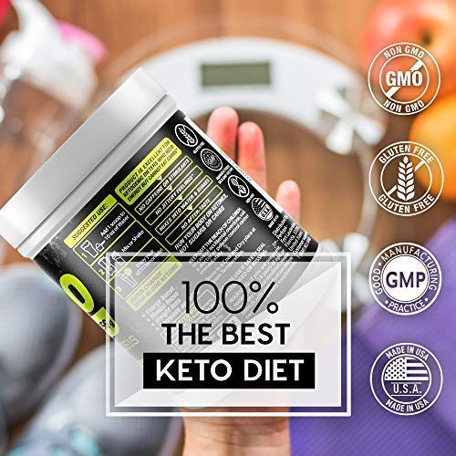 4 Pack Perfotek Keto Powder - Instant Ketosis - Exogenous Ketones Weight Loss Supplements with BHB and Electrolytes for Ketogenic Diet - Lemon Lime 2