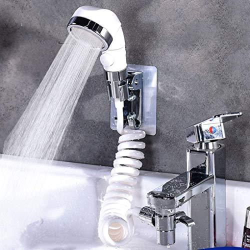 Grifos Accesorios Baño Lavado Cara Lavabo Grifo De Agua De Ducha Externo De Alta Presión De Inodoro Aguja De Lavado De Cabello Grifo Enjuague Conjunto Extensión