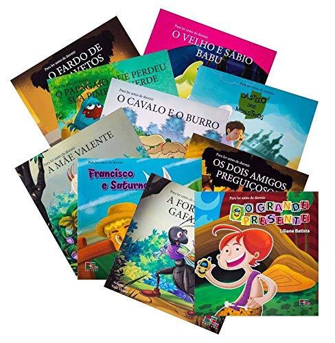 Coleção Infantil Para Ler Antes De Dormir - 10 Livros