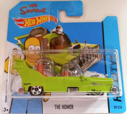 Hot Wheels 2014 HW City THE HOMER (THE SIMPSONS) 89/250