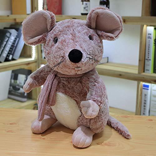 2020 Imulation 3D Maus Puppe Große Plüschtier Schlafkissen Sternzeichen Ratte Ragdoll Puppe, Nette Kawaii Kinderspielzeug 1 Stücke 50 cm