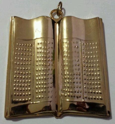 Masonic Lecturer Collar Jewel in Gold Tone