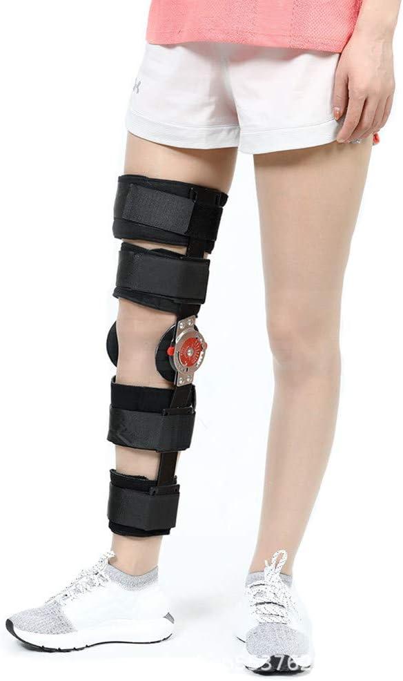 Rodillera Ortopedica Articulada, Rodillera Rotuliana Regulable, Patella Abierta para Artritis/LCA/Lágrimas de menisco/Lesiones Deportivas/Caminar Corriendo,L