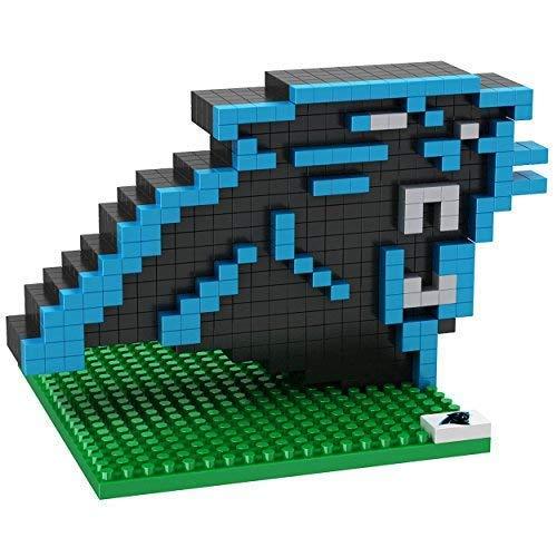 Carolina Panthers NFL Team 3D BRXLZ LOGO Puzzle