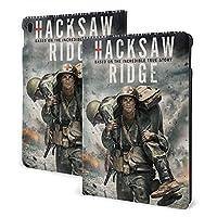 ハクソー・リッジ Hacksaw Ridge パッドレザーケースは、I-Pad Air3 10.5 / I-Pad 7th10.2インチの保護ケースに適しています.超薄型軽量スタンドレザーケース/自動ウェイクスリープ.