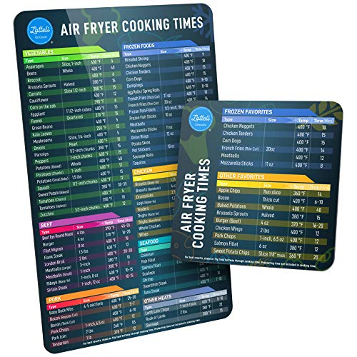 Air Fryer Magnetic Cheat Sheet
