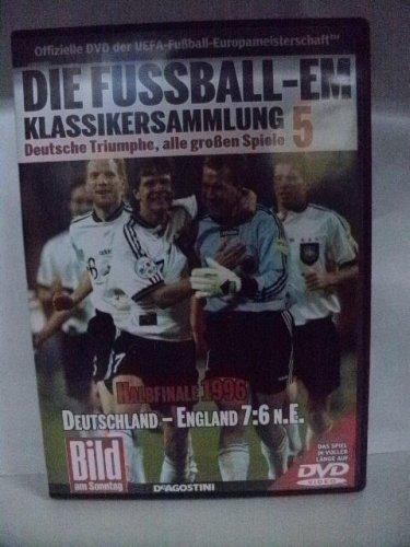 Die Fussball-EM ~ Klassikersammlung 5 ~ Deutsche Triumphe, alle grossen Spiele ~ Halbfinale 1996 ~ Deutschland-England 7:6 n. V.
