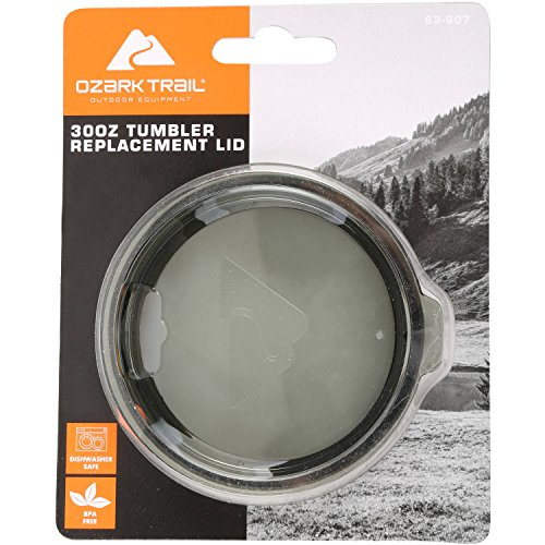Ozark Trail 30 oz Tumbler Replacement Lid, Smoke Gray