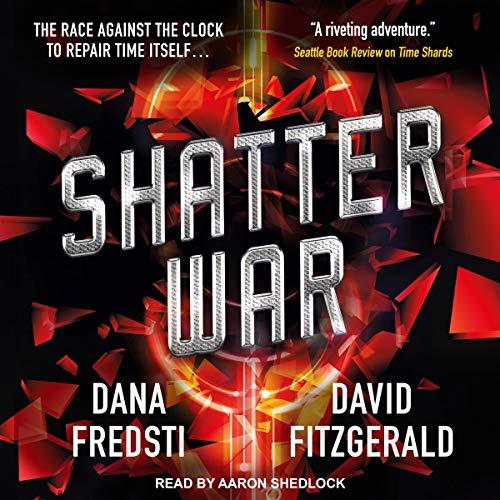 Shatter War audiobook cover art